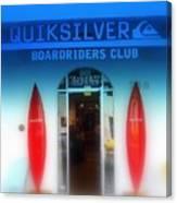 Miami Surfing Paradise  Canvas Print