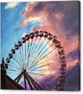 Mia's Ferris Wheel Canvas Print