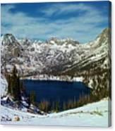 Mica Lake Canvas Print