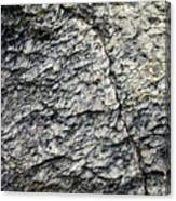 Mica Stone Detail With Crack Canvas Print