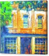Micanopy Warehouse Canvas Print