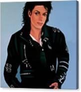 Michael Jackson Bad Canvas Print