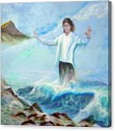 Michael Jackson In Hawaii Canvas Print