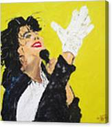 Michael Jackson The Hand Canvas Print