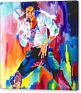 Michael Jackson Wind Canvas Print