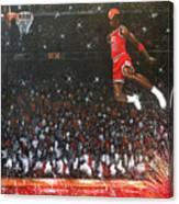 Michael Jordan Custom Painting Canvas Print