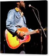 Michael Kiwanuka, Photographed By Anna Webber At Heartbreaker Ba Canvas Print
