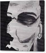 Halloween Character Canvas Print