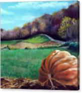Michael's Great Pumpkin Canvas Print