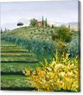 Michela's View Canvas Print