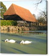 Michelham Priory Barn Canvas Print