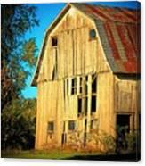 Michigan Barn Canvas Print