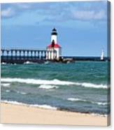 Michigan City Lighthouse Canvas Print