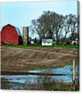 Michigan Farm Canvas Print
