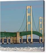 Michigan Mighty Mac Canvas Print