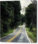 Michigan Rural Roadway In September Canvas Print