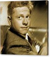 Mickey Rooney, Actor Canvas Print