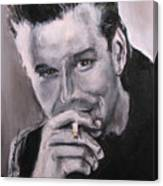 Mickey Rourke Canvas Print