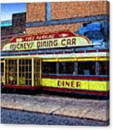 Mickey's Dining Car Canvas Print