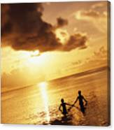 Micronesia, Guam Canvas Print