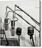 Microphones At Sun Records Canvas Print