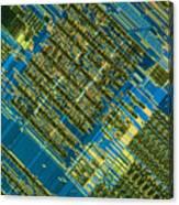 Microprocessor Canvas Print
