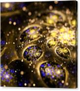Microskopic Vii - Galaxy Canvas Print