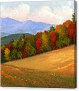Mid Autumn Canvas Print