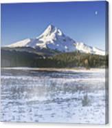Mid-winter Morning Canvas Print