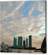 Midday In Miami 2 Canvas Print