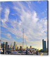 Midday In Miami Canvas Print