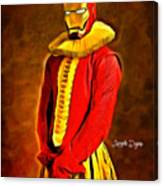 Middle Ages Iron Man Canvas Print