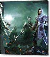 Middle-earth Shadow Of War Canvas Print
