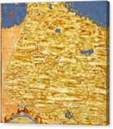 Middle East Georgia, Armenia, Azerbaijan, Iraq, Western Iran Canvas Print