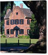 Middleton Place Plantation House Canvas Print