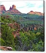 Midgley Bridge Canvas Print