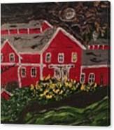 Midnight At Greenbank Farm Canvas Print