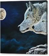 Midnight Calling Canvas Print