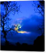 Midnight Clouds Canvas Print