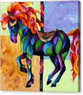 Midnight Fire Canvas Print