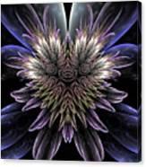 Midnight Magnolia Canvas Print