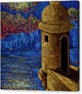 Midnight Mirage In San Juan Canvas Print