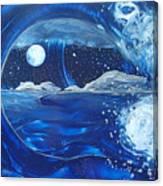 Midnight Moon Canvas Print