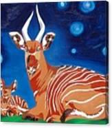 Midnight Phantom Canvas Print