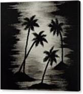 Midnight Sands Canvas Print