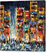 Midnight Strangers Canvas Print