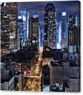 Midtown Looking From The West Canvas Print
