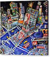 Midtown Magic Canvas Print