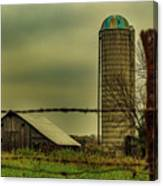 Midwest Barn Canvas Print