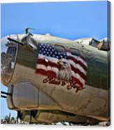 Mighty B-17 Fortress Canvas Print